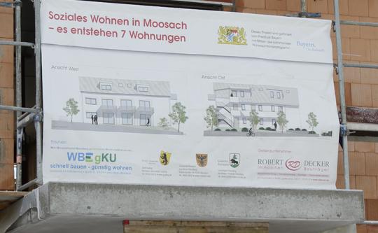 Sozialer Wohnungsbau Sozialwohnungen Bau Moosach