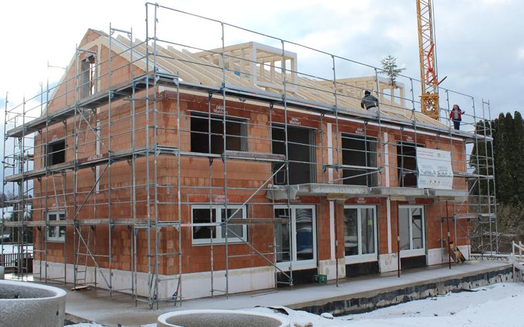 Sozialer Wohnungsbau Sozialwohnungen Bau Moosach Richtfest