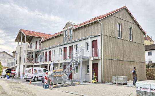 Sozialer Wohnungsbau Sozialwohnungen Grafing